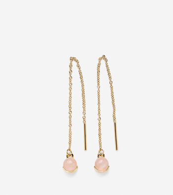 Semi-Precious Threader Earring