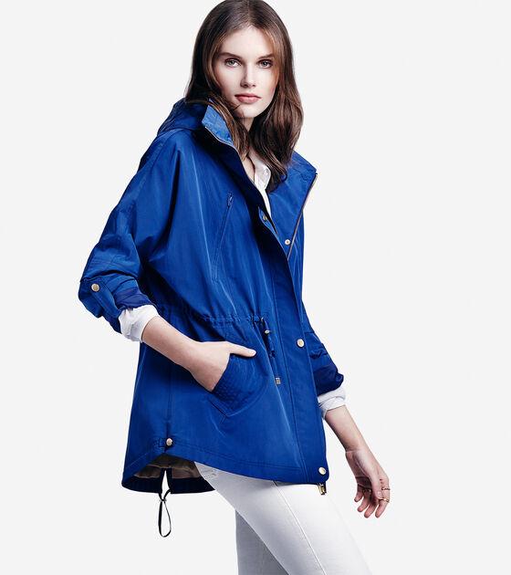 Silky Nylon Rain Jacket