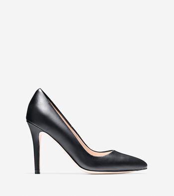 Emery Pump (100mm) - Almond Toe