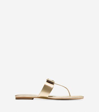 Tali Bow Flat Sandal