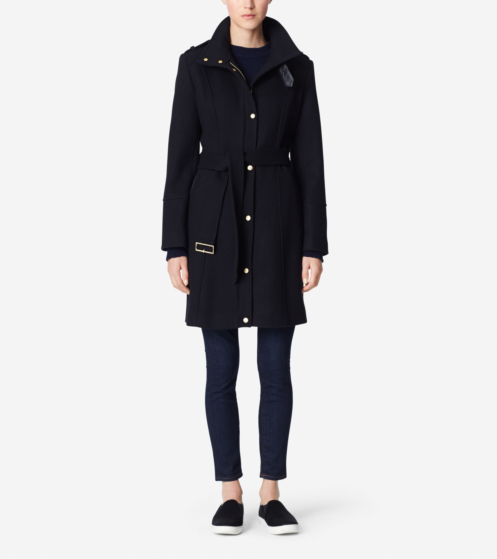 Outerwear > New Wool Twill Coat