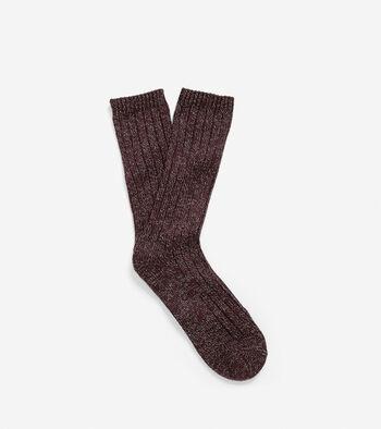 Cabin Knit Socks