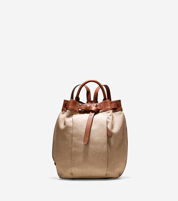 Emery Canvas Backpack