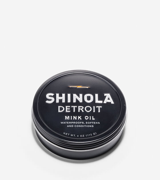 Leather & Shoe Care > Shinola Mink Oil