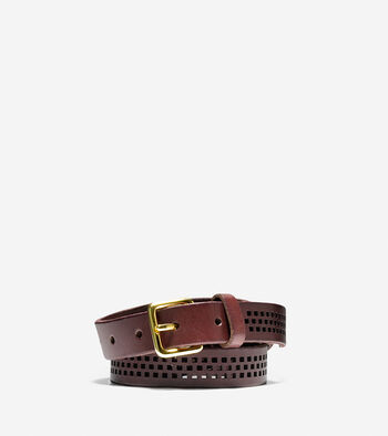 Oiled Vachetta Leather Belt