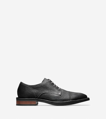 Canton Stitch Cap Toe Oxford