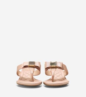 Tali Grand Bow Wedge Sandal (40mm)