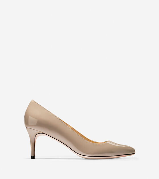 Bethany Pump (65mm)- Almond Toe