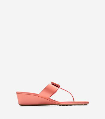 Tali Grand Bow Wedge Sandal (40mm)