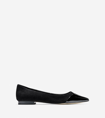 Allison Cap Toe Skimmer
