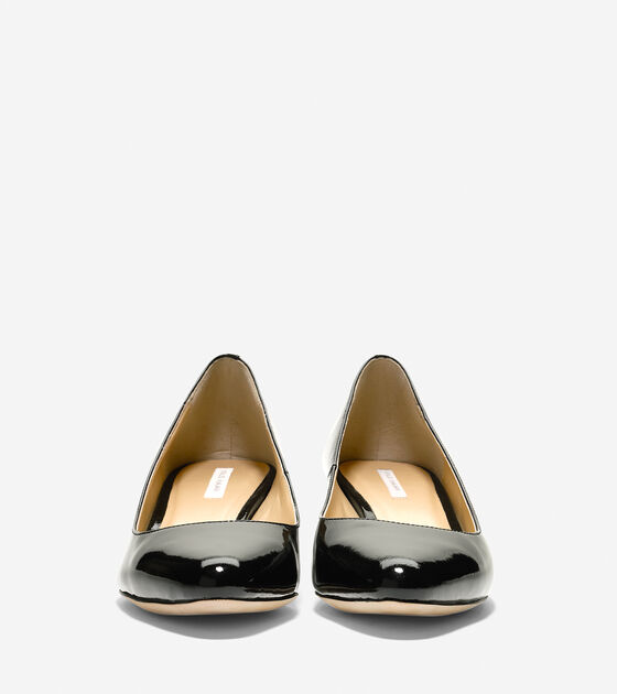 Bethany Wedge (40mm)- Almond Toe