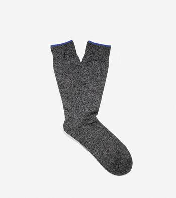 Melange Flat Knit Socks