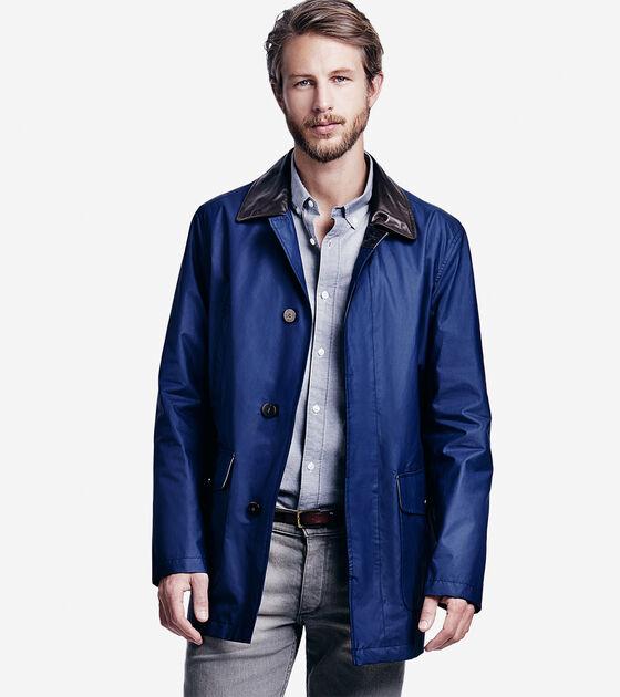 Outerwear > Waxed Cotton Barn Coat
