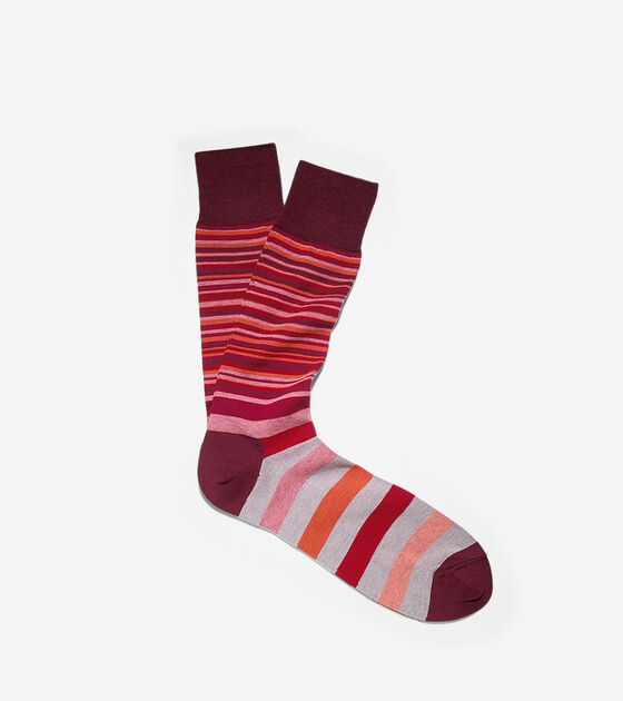 Socks > Town Striped Crew Socks