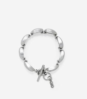 Geometric Drama Link Bracelet