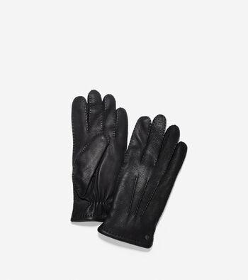 Handsewn Deerskin Leather Gloves