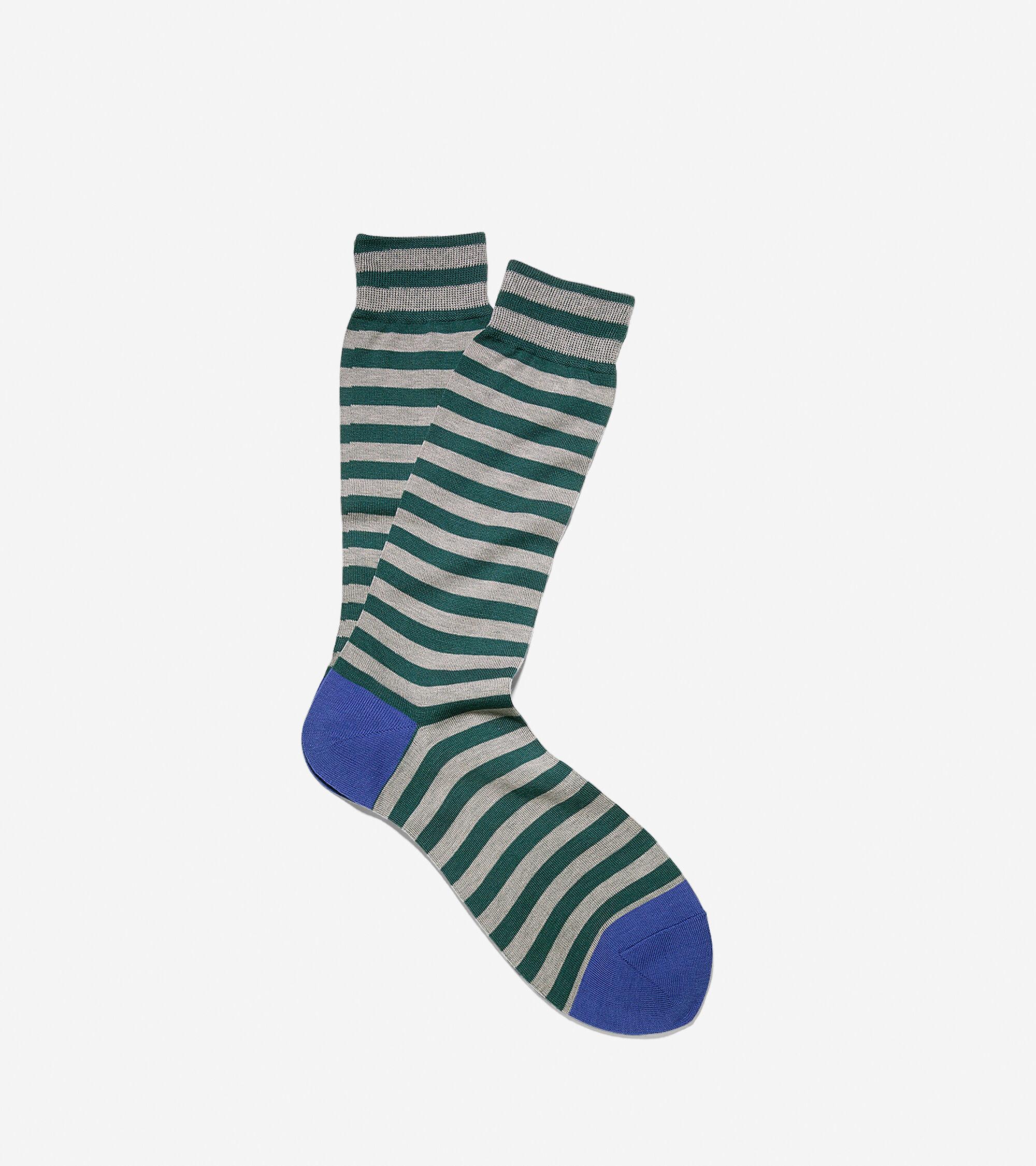 Socks > Sailor Stripe Crew Socks