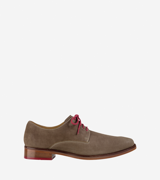 Plain Toe Oxford Brown Colton Plain Toe Oxford