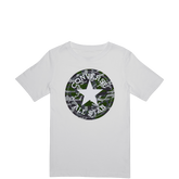 Boys Camo Chuck Taylor Patch Tee White