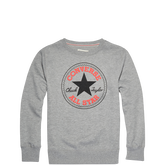 Chuck Taylor All Star Chuck Patch Sweatshirt Grey Heather