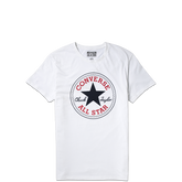 Mens Chuck Patch Tee Optic White
