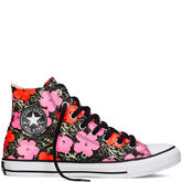 Chuck Taylor All Star Andy Warhol Floral Poppy Red/Fuchsia Purple/White