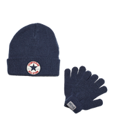 Converse Rib Knit Set Navy
