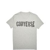 Mens Converse Stencil Pocket Tee Vintage Grey Heather