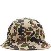 Mens 6 Panel Bucket Hat Camo