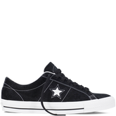 CONS One Star Pro Black/White/Black