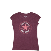Girls Chuck Taylor Patch Tee 6-12 Yrs Gardenia