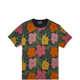 Mens Andy Warhol Flowers Tee White