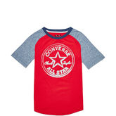 Boys Colorblocked Raglan Converse Red