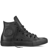 Chuck Taylor All Star Leather Black Mono