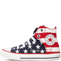 Chuck Taylor Easy Slip Flag Yth/Jr Red/White/Blue
