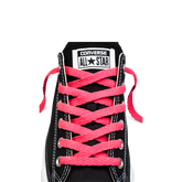 Low-Top Neon Flat Lace 45 In Neon Pink