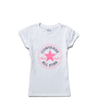 Girls Chuck Taylor Patch Tee 6-12 Yrs White