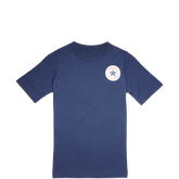 Boys Left Chest Chuck Taylor Patch Tee 6-12 Yrs Blue Jay
