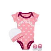 Infant 3 Piece Gift Pack 0-6 Months Pink