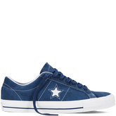 CONS One Star Pro Navy/White/White