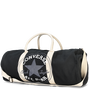 Graphic Barrel Bag Black