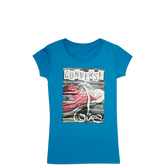 Girls Love Sneaker Tee 6-12 Yrs Cayan Space