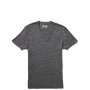 Mens Heathered V Neck Tee Phantom Heather