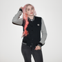 Womens Varsity Jacket Jet Black