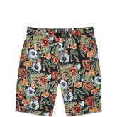 CONS Floral Print Shorts Black Floral