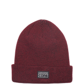 CONS Twisted Yarn Watchcap Deep Bordeaux