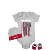 Infant 3 Piece Gift Pack 0-6 Months Grey