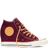 Chuck Taylor All Star Lux Peached Canvas Black Cherry