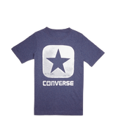Boys Box Star Tee 6-12 Yrs Converse Navy