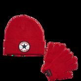 Converse Rib Knit Set Red